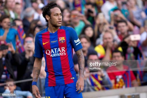 Neymar Jr, during the Liga match betwen FC Barcelona and SD Eibar at Camp Nou stadium in Barcelona, Spain on May 21, 2017