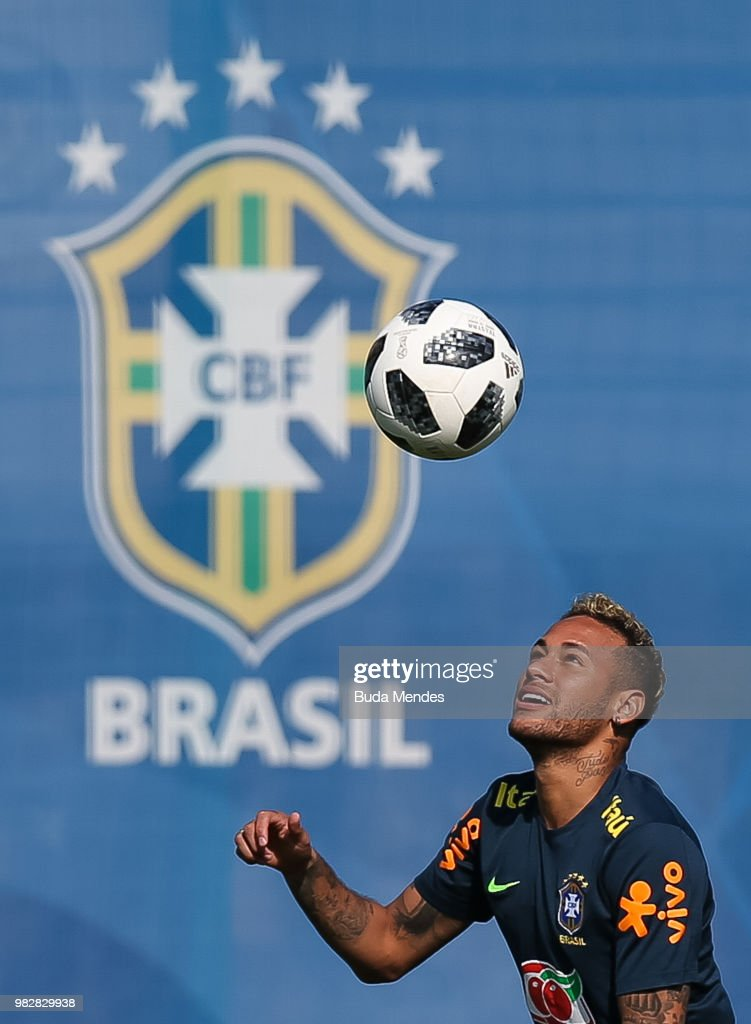 Brazil Training Session - FIFA World Cup Russia 2018