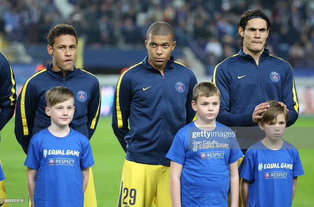 RSC Anderlecht v Paris Saint Germain - UEFA Champions League : News Photo