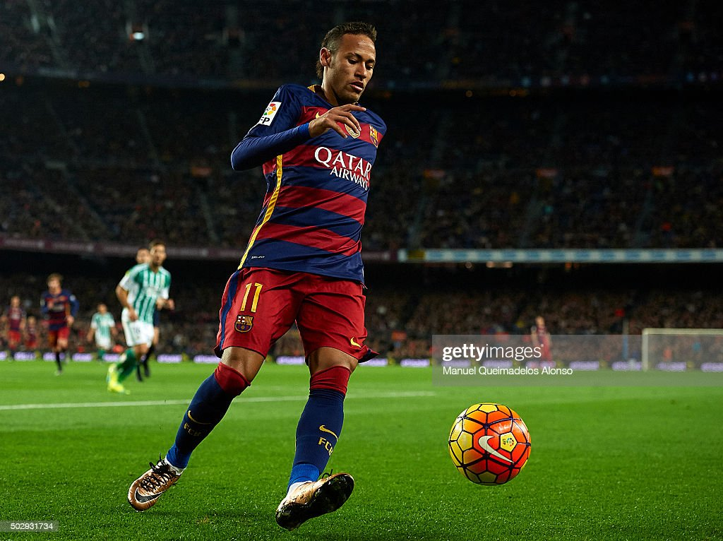 FC Barcelona v Real Betis Balompie - La Liga : Foto di attualità