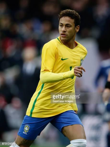 Neymar Jr of Brazil during the International Friendly match between Japan v Brazil at the Stade Pierre Mauroy on November 10 2017 in Lille France