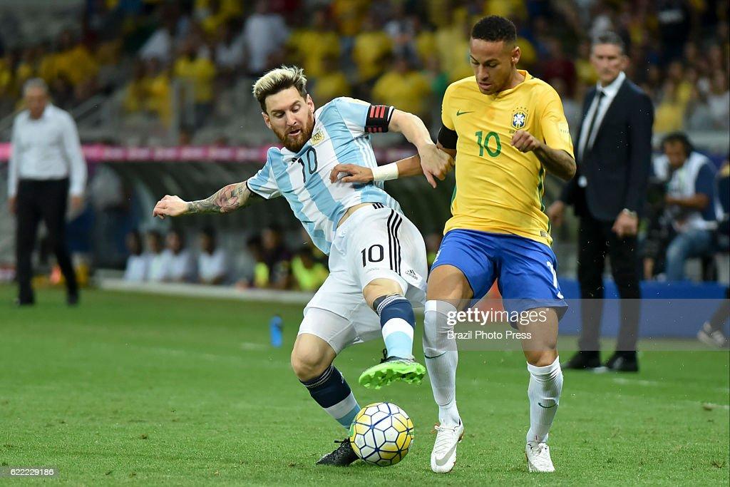 Brazil v Argentina - FIFA 2018 World Cup Qualifiers : ニュース写真