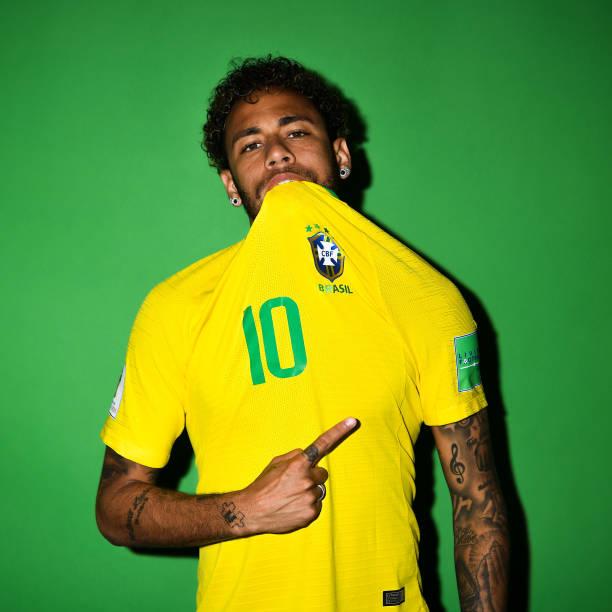 RUS: Brazil Portraits - 2018 FIFA World Cup Russia