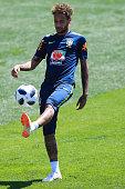 sochi russia neymar jr brazil takes