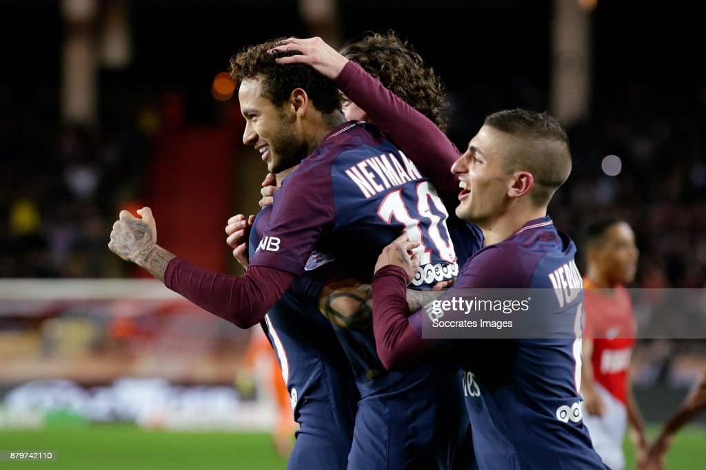 AS Monaco v Paris Saint Germain - Ligue 1