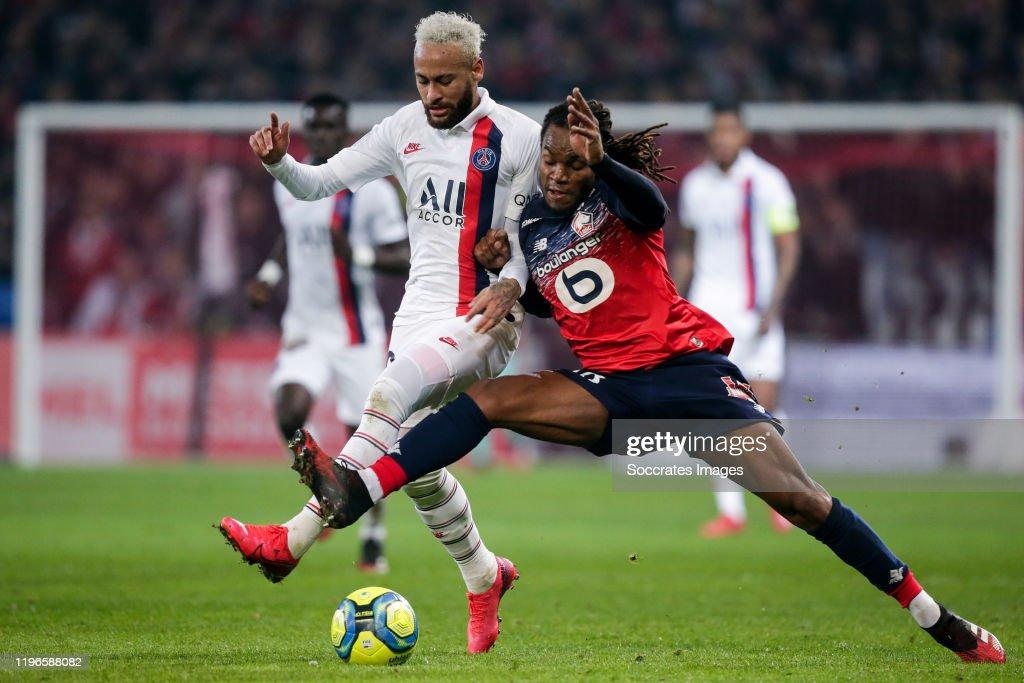 Lille v Paris Saint Germain - French League 1 : ニュース写真