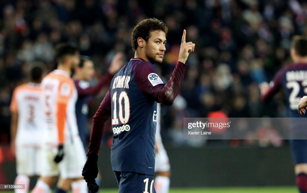 Paris Saint Germain v Montpellier Herault SC - Ligue 1 : News Photo