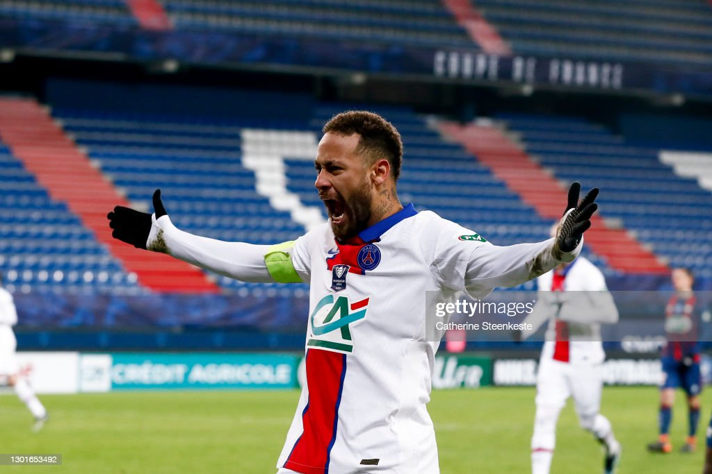 Stade Malherbe de Caen v Paris Saint-Germain - French Cup : News Photo