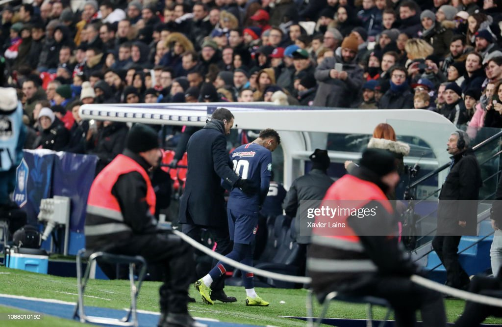 Paris Saint-Germain v RC Strasbourg - French Cup : News Photo