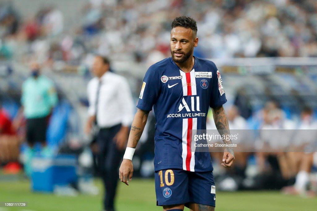 Paris Saint Germain v Olympique Lyonnais - French League Cup (Coupe De La Ligue) - Final : News Photo