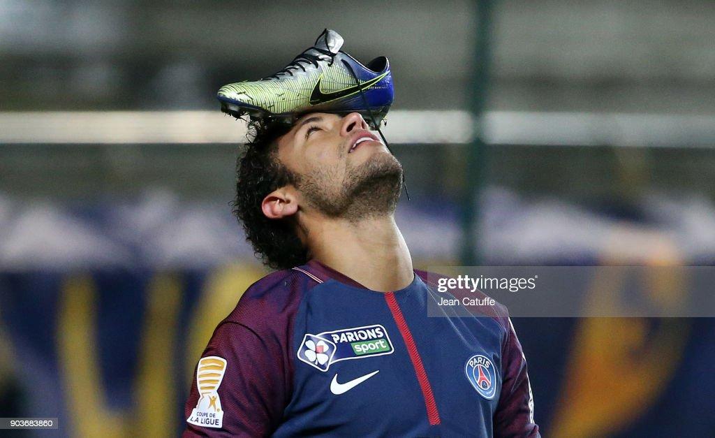Amiens SC v Paris Saint Germain - French League Cup : News Photo