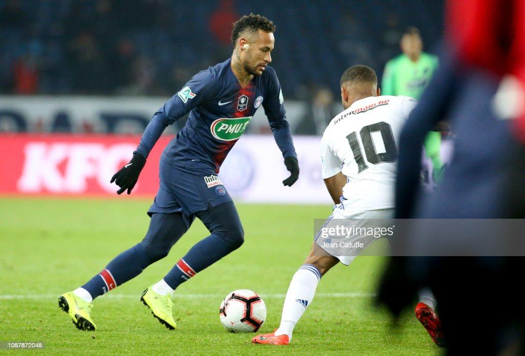Paris Saint-Germain v RC Strasbourg - French Cup : ニュース写真