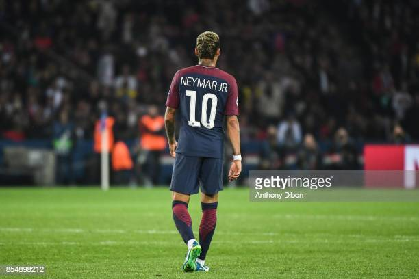 Neymar Jr of PSG during the Uefa Champions League match between Paris Saint Germain and Fc Bayern Muenchen on September 27 2017 in Paris France