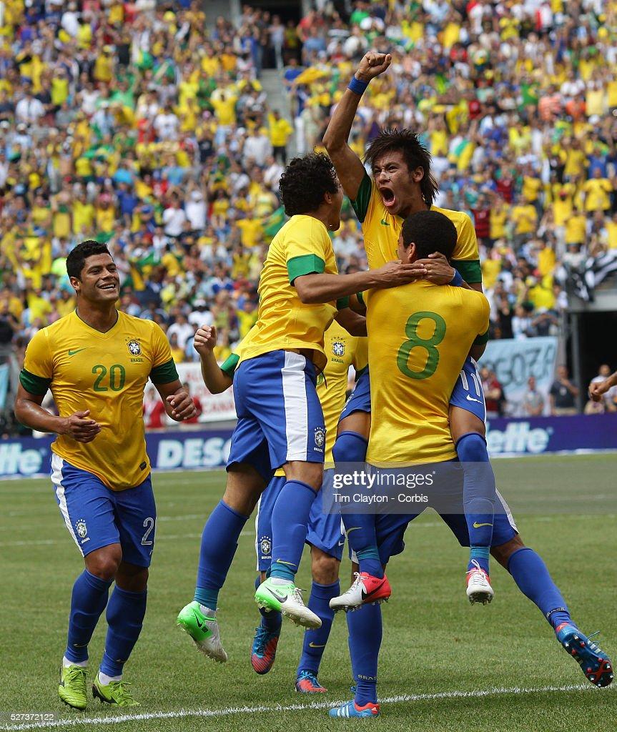 12353eb62 Brazil V Argentina International Soccer Friendly match at MetLife Stadium