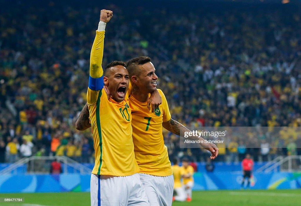 Brazil v Colombia Quarter Final: Men's Football - Olympics: Day 8 : News Photo