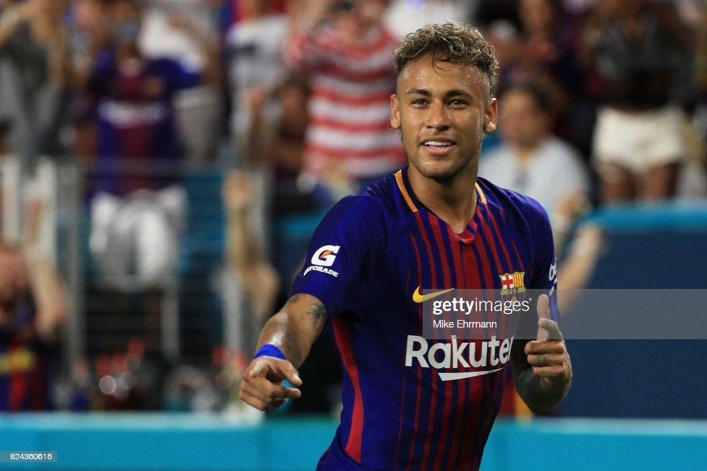 International Champions Cup 2017 - Real Madrid v FC Barcelona : Foto jornalística
