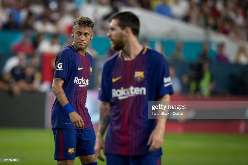 International Champions Cup El Clásico match FC Barcelona v Real Madrid : News Photo