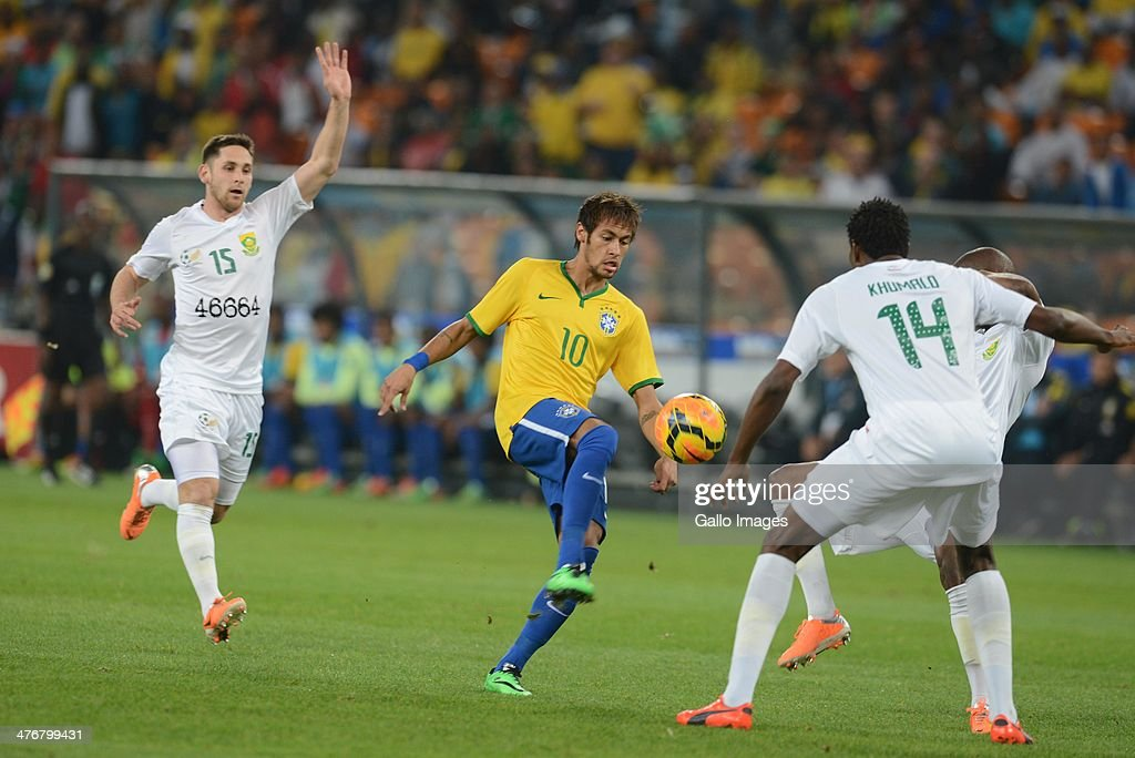 South Africa v Brazil - International Friendly