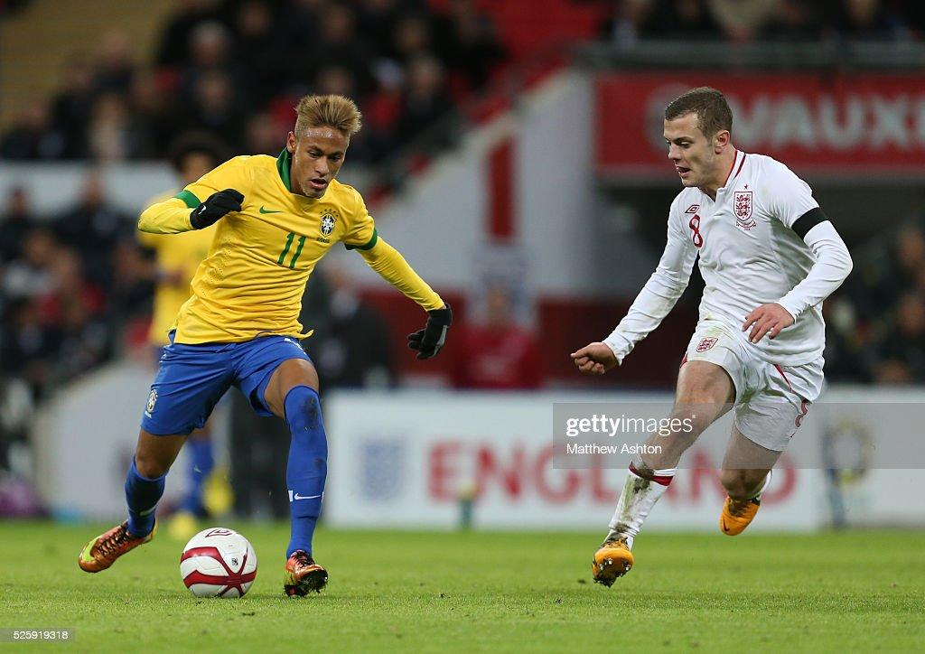 Soccer - International Friendly - England v Brazil : News Photo