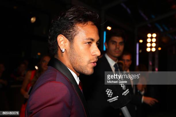 Neymar of Brazil and Paris SaintGermain during The Best FIFA Football Awards Show on October 23 2017 in London England