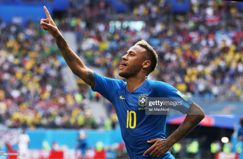 Brazil v Costa Rica: Group E - 2018 FIFA World Cup Russia : News Photo