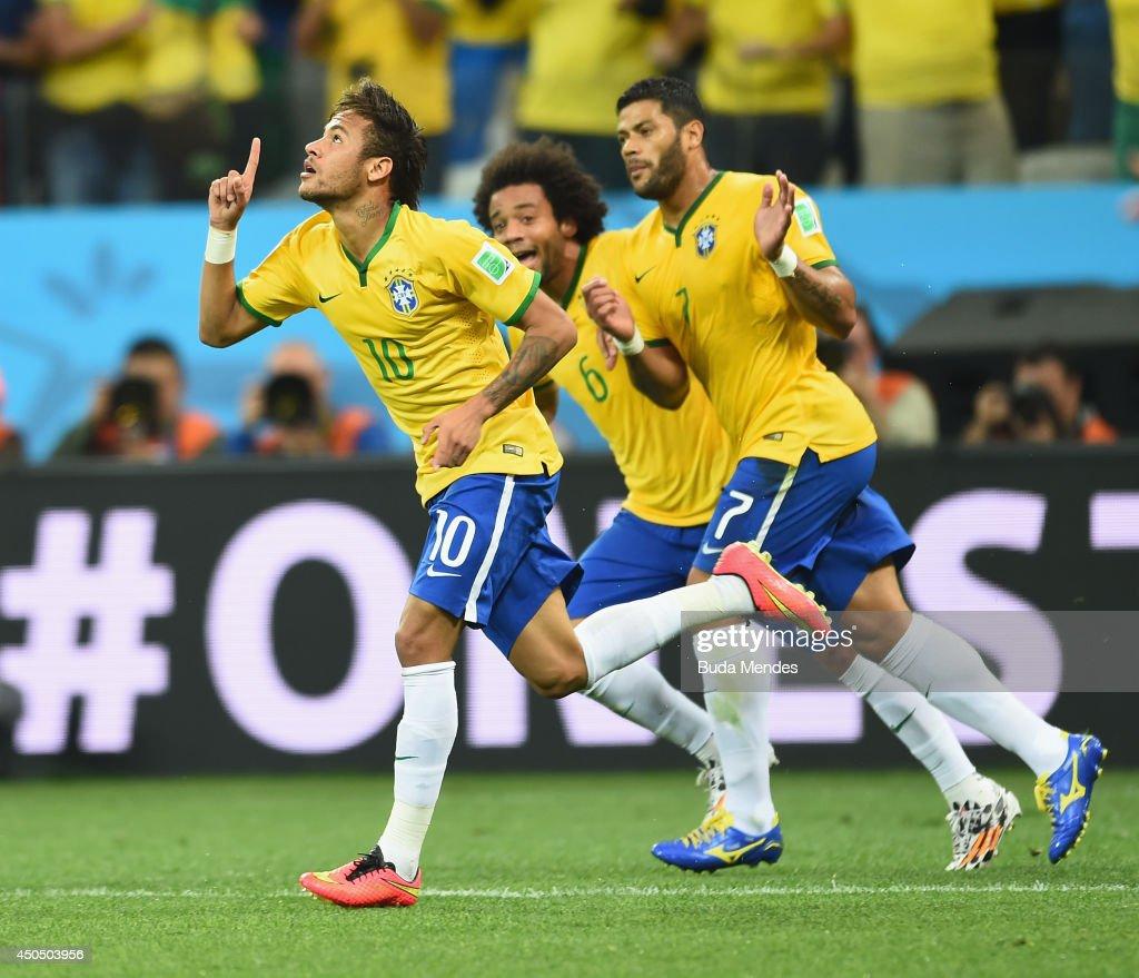 Brazil v Croatia: Group A - 2014 FIFA World Cup Brazil : ニュース写真