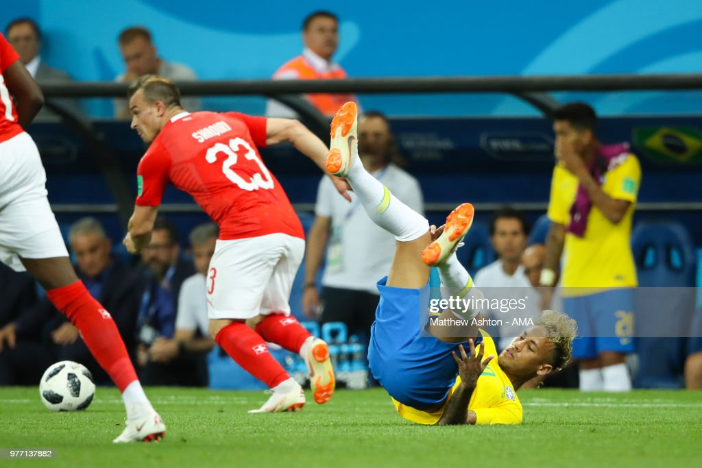 Brazil v Switzerland: Group E - 2018 FIFA World Cup Russia : News Photo
