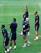 sao paulo brazil neymar brazil gestures