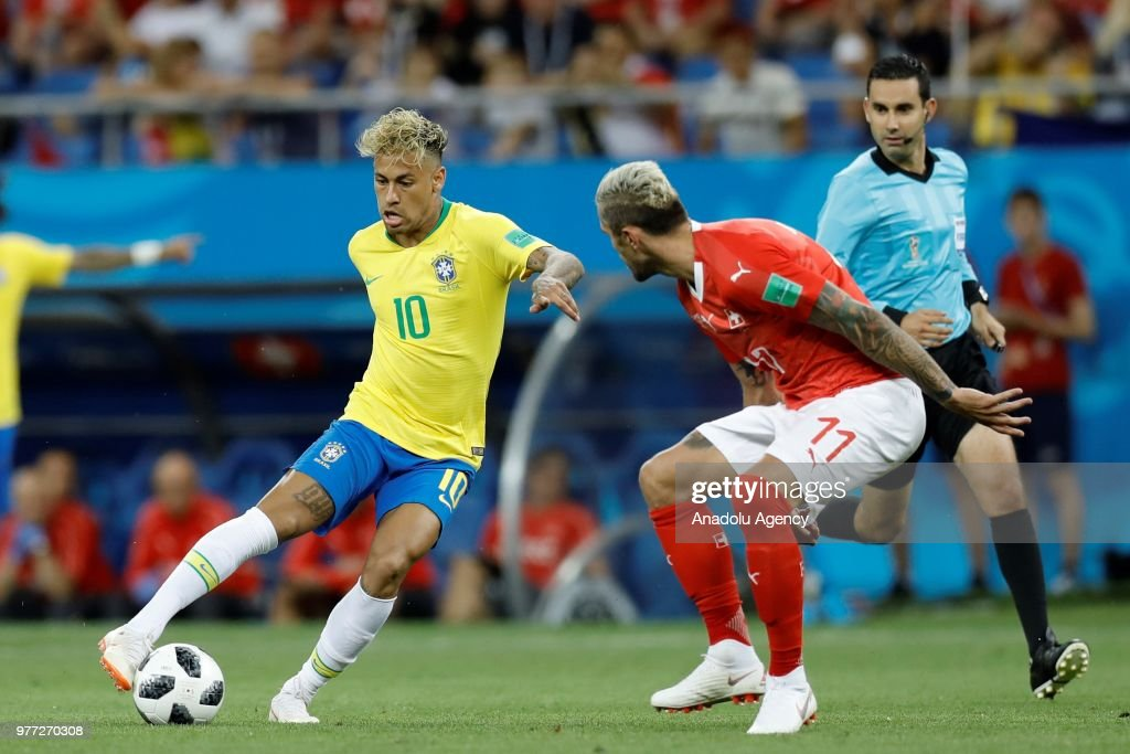 Brazil v Switzerland : Group E - 2018 FIFA World Cup Russia : News Photo