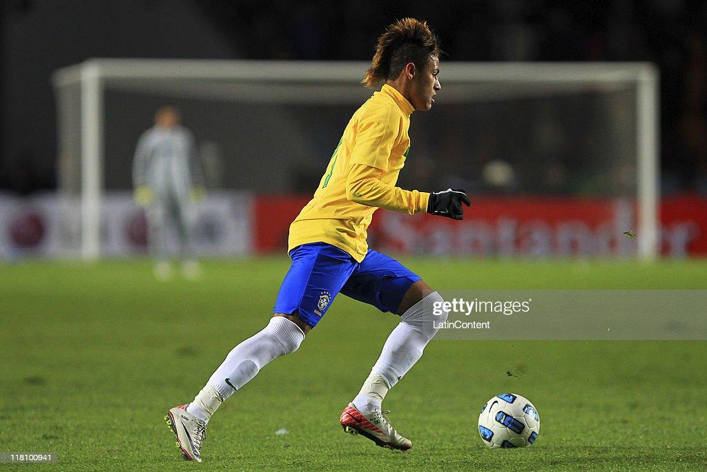 Brazil v Venezuela - Copa America 2011 : News Photo