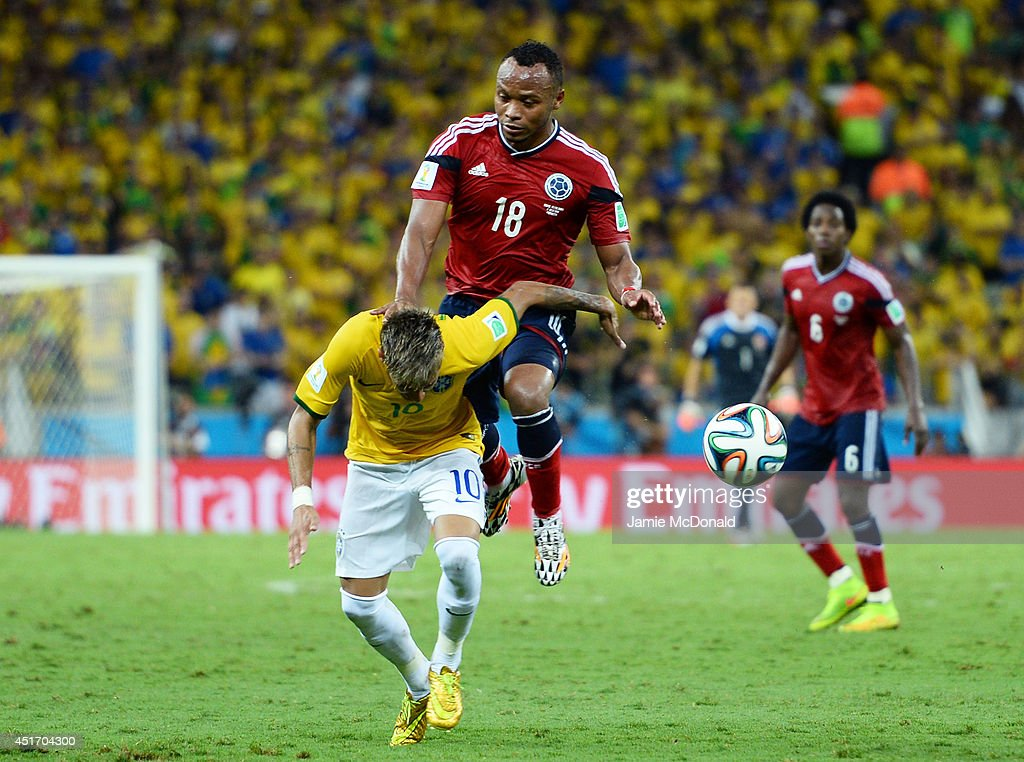 Brazil v Colombia: Quarter Final - 2014 FIFA World Cup Brazil : Foto jornalística