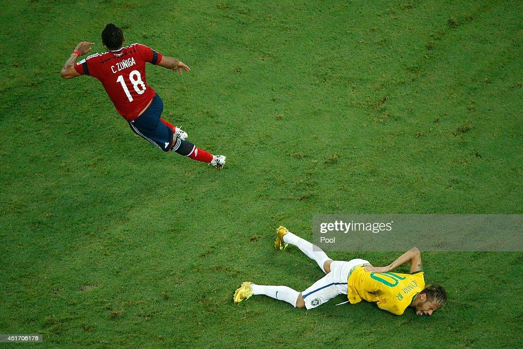 Brazil v Colombia: Quarter Final - 2014 FIFA World Cup Brazil : ニュース写真