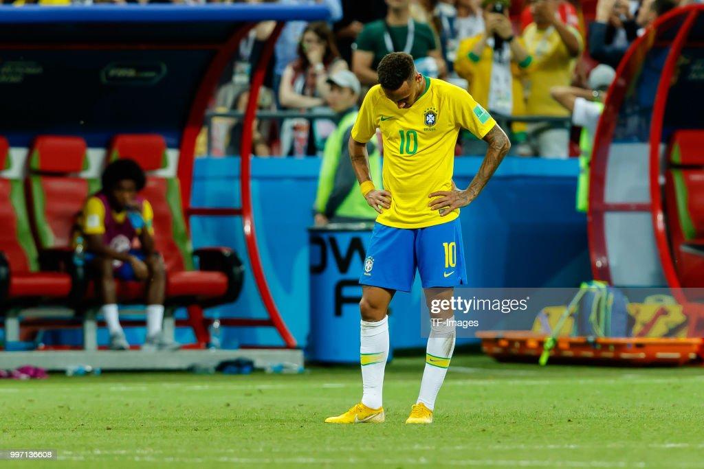 Brazil v Belgium: Quarter Final - 2018 FIFA World Cup Russia : News Photo