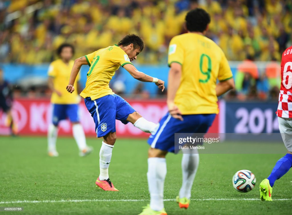 Brazil v Croatia: Group A - 2014 FIFA World Cup Brazil : News Photo