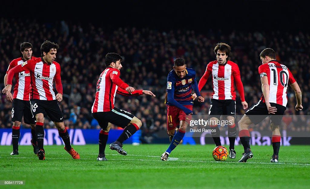 FC Barcelona v Athletic Club - La Liga : Nachrichtenfoto