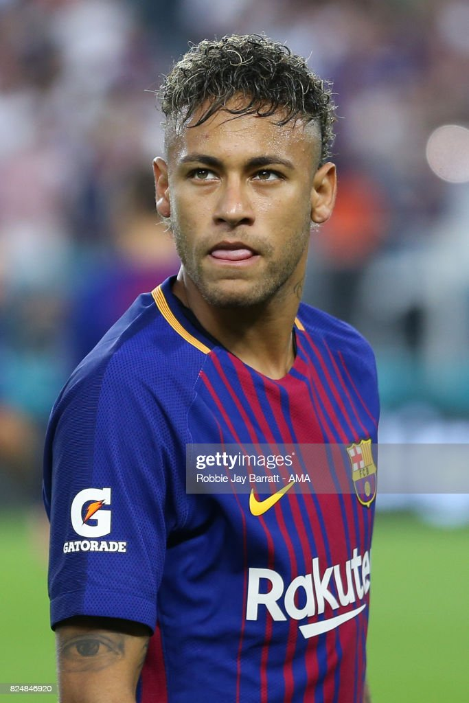 Neymar of FC Barcelona during the International Champions ...