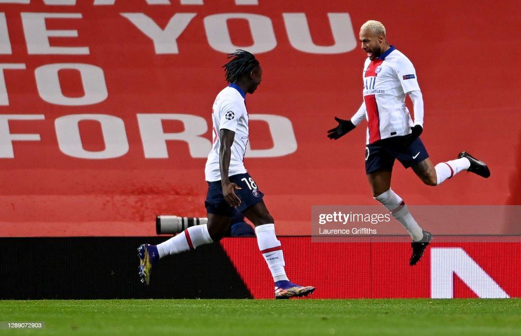 Manchester United v Paris Saint-Germain: Group H - UEFA Champions League : ニュース写真