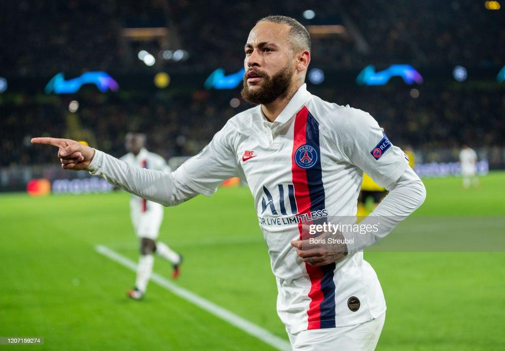 Borussia Dortmund v Paris Saint-Germain - UEFA Champions League Round of 16: First Leg : ニュース写真