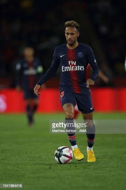 5467a3a2 Neymar of Paris SaintGermain / PSG during the Ligue 1 fixture between Paris  SaintGermain v Stade