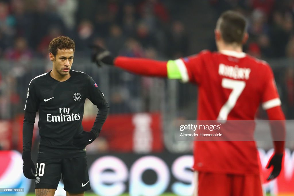 Bayern Muenchen v Paris Saint-Germain - UEFA Champions League : News Photo