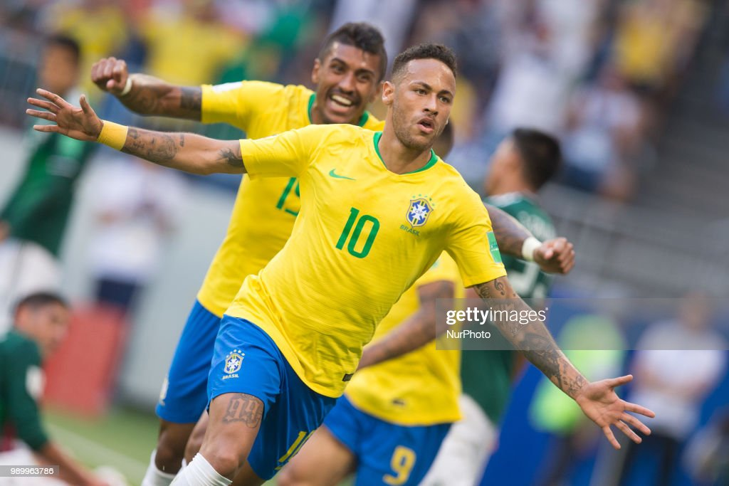 Brazil v Mexico: Round of 16 - 2018 FIFA World Cup Russia : News Photo
