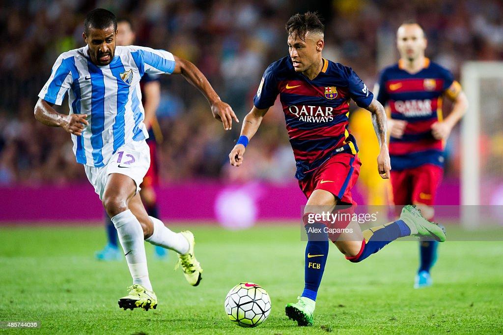 FC Barcelona v Malaga CF - La Liga : News Photo