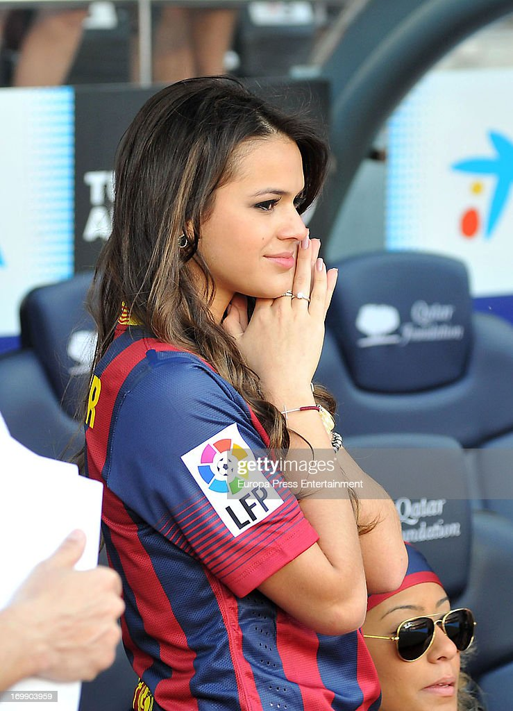 Neymar's girlfriend Bruna Marquezine cryes during her ...Bruna Marquezine And Neymar