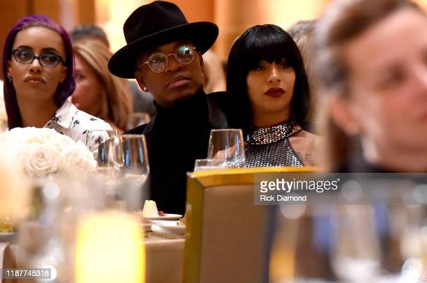 Neyo and Crystal Renay attend GCAPP Empower Party to Benefit Georgia's Youth at The Fox Theatre on November 14 2019 in Atlanta Georgia
