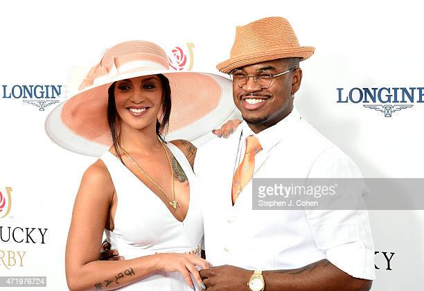 NeYo and Crystal Renay attend the 141st Kentucky Derby at Churchill Downs on May 2 2015 in Louisville Kentucky