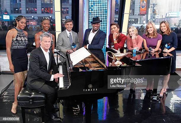 AMERICA NeYo and David Foster collaborate live on 'Good Morning America' 10/26/15 airing on the ABC Television Network