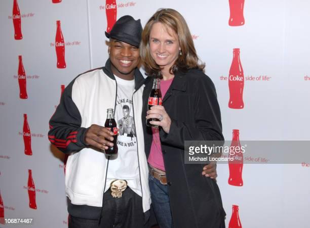 NeYo and Katie Bayne Senior Vice President CocaCola Brands