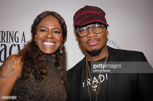 NeYo and mother Compound Foundation President/Chair Loraine Smith attend the 3rd Annual Compound Foundation Fostering A Legacy Benefit at Gotham Hall...