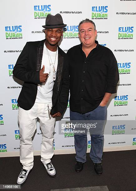 NeYo and Radio Personality Elvis Duran visit The Elvis Duran Z100 Morning Show at the Z100 Studio on August 2 2012 in New York City