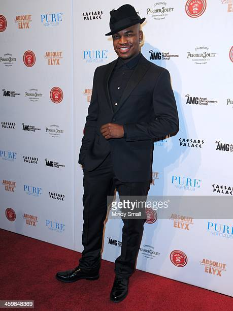 NeYo arrives at Pure Nightclub at Caesars Palace on December 31 2013 in Las Vegas Nevada
